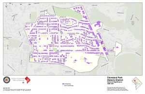 Cleveland Park HD Contributing Structures