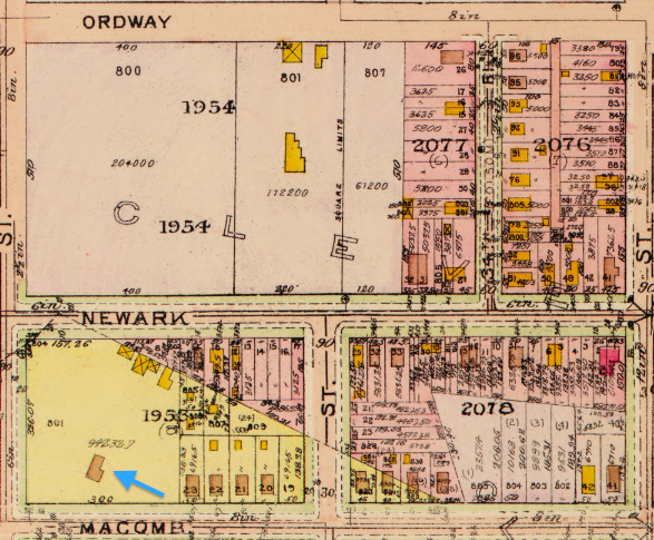 Oak View 1919 Baist Map