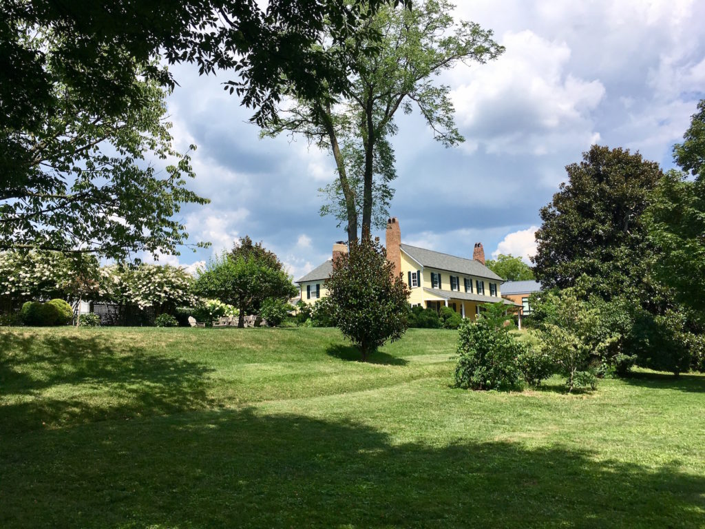 Rosedale Farmhouse and grounds