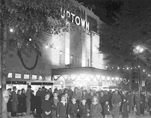 Uptown Theater opening night, October 1936